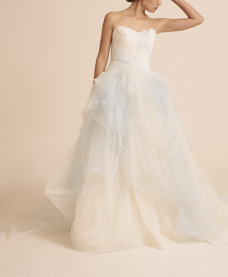 【WHITE by VERA WANG】Ombre Tulle Wedding Dress VW351322(US6/11号)
